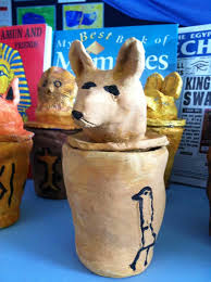 making egyptian canopic jars art cabin u0027s blog