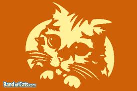 free pumpkin stencils puss u0027n boots band cats