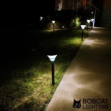 Bright Solar Landscape Lights 2 Pack Bright Solar Path Lights 60 Lumens Led Solar