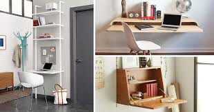 Small Desk Designs 16 Wall Desk Ideas That Are Great For Small Spaces Contemporist