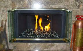 Convert Gas Fireplace To Wood by Picture Gallery Of Converted Natural Gas Fireglass Fireplaces And