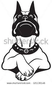 boxer dog cartoon stock images royalty free images u0026 vectors