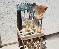 Organizing Garden Tools In Garage - how to properly store garden tools outdoor projects organizing