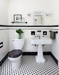 black and white tile bathroom decorating ideas home interior