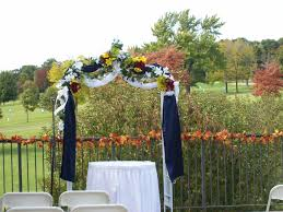 outdoor wedding ceremonies bartletthillsweddingblog