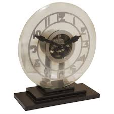 monumental leon hatot ato electro mechanical clock at 1stdibs