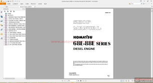 komatsu engine workshop manuals auto repair manual forum heavy