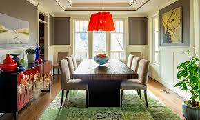 Black And Cream Dining Room - dinning rooms colorful dining room with black dining table and