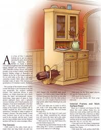 kitchen furniture plans kitchen dresser plans woodarchivist