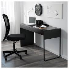 Black Computer Desk Micke Desk Black Brown Ikea