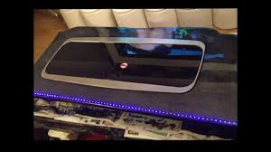 Two Part Epoxy Resin Bar Top Epoxy Resin Work Top Side Board With Led Lights Youtube