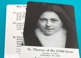Prayer To St Therese The Little Flower - st therese relic ebay