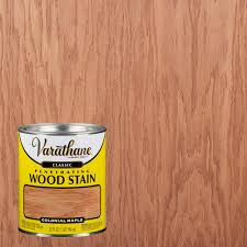 what color to stain maple cabinets varathane 1 qt colonial maple classic wood interior stain