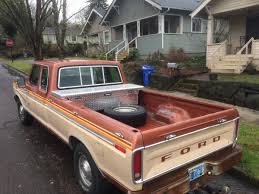Old Ford Truck Toddler Bed - curbside classic 1978 ford f 250 supercab u2013 a superior cab leads