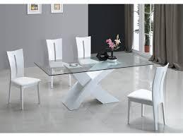 vente unique cuisine table à manger opera mdf laqué blanc http vente unique com