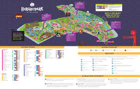 La Zoo Map Park Maps Spring Summer Fall U0026 Winter Hersheypark