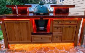 kamado joe grill table plans our custom egg tables big green egg egghead forum the ultimate