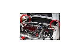 lancer evo 7 competition lancer evo 7 8 9 carbon fiber hood dampers