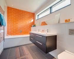 orange bathroom ideas bathroom ideas photos with orange tiles