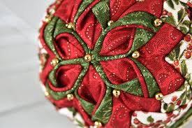 the ornament club quilted ornament kit of the month