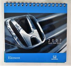 2007 honda element owners manual guide book ebay