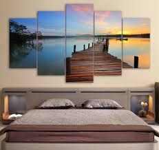 Hanging Artwork Online Buy Wholesale Hanging Bridge Wall Painting From China