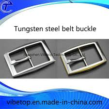 allergic to belt buckle china business style tungsten steel anti allergy metal belt buckle