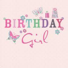 birthday girl carlton cards birthday girl card butterflies cardspark