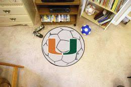 Area Rugs Miami Miami Hurricanes Rugs College Rug Nylon Doormat Sports Mats
