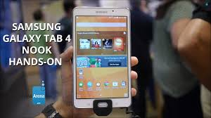 nook samsung galaxy tab 4 nook hands on youtube