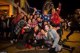 Christmas Parties In Newcastle - christmas revellers in newcastle over do festive spirits daily