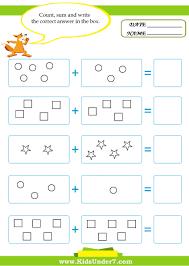 math worksheets for addition kids under 7 3 halloween math