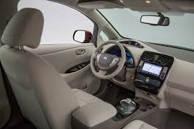 nissan quest 2016 interior 2016 nissan leaf ev quick drive review motor trend