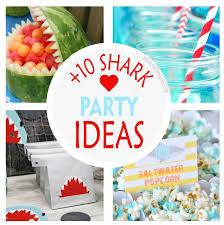 the sea party ideas 10 shark the sea party ideas partymazing