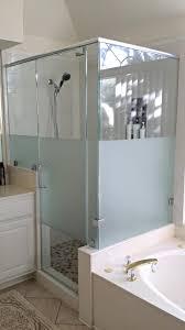 Frosted Glass Shower Door Frameless Frameless Frosted Glass Shower Doors Fresh At Inspiring Custom
