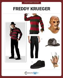 Halloween Freddy Krueger Costume Dress Freddy Krueger Costume Halloween Cosplay Guides