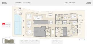floor plans bulgari residences jumeirah bay island by meraas