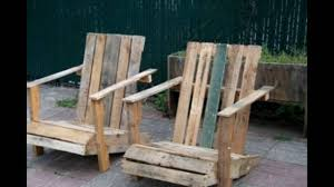 pallet rocking chair youtube