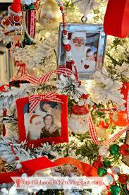 Precious Moments 2014 Christmas Ornament Blue Ribbon Kitchen Santa Photo Tree
