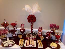 red and gold candy buffet dessert tables u0026 candy buffets by