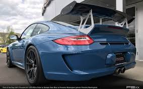 blue porsche 2017 in market paint to sample oslo blue 2011 porsche 911 gt3 rs u2013 p9xx