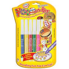 edible markers 8 pack foodoodlers edible markers kids on abington