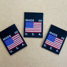 Flag Clothing Made In Usa Flag Clothing Labels Black Cruz Label Store