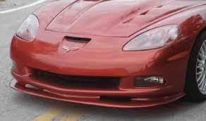 corvette front chevy corvette splitter 2005 2013 front c6 sports car