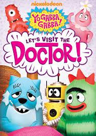 amazon yo gabba gabba u0027s visit doctor lance