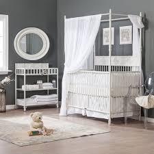 bratt decor wrought iron indigo 2 in 1 convertible crib collection