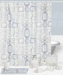 Seashell Shower Curtains Animal Shower Curtain