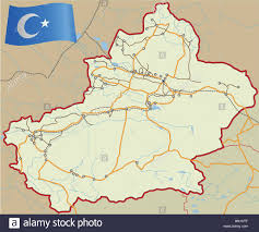Asia Rivers Map by Xinjiang China Asia Map Stock Photos U0026 Xinjiang China Asia Map