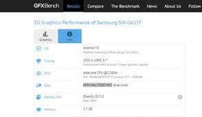 Cpu Info by Mystery Samsung Phone With Mediatek Cpu Spotted On Gfxbench