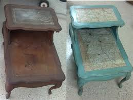 Different Ways To Paint A Table 25 Best Refinished End Tables Ideas On Pinterest Refinish End
